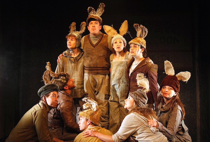 The cast of Watership Down - Watership Down. Photo Philip Tull 026 copy