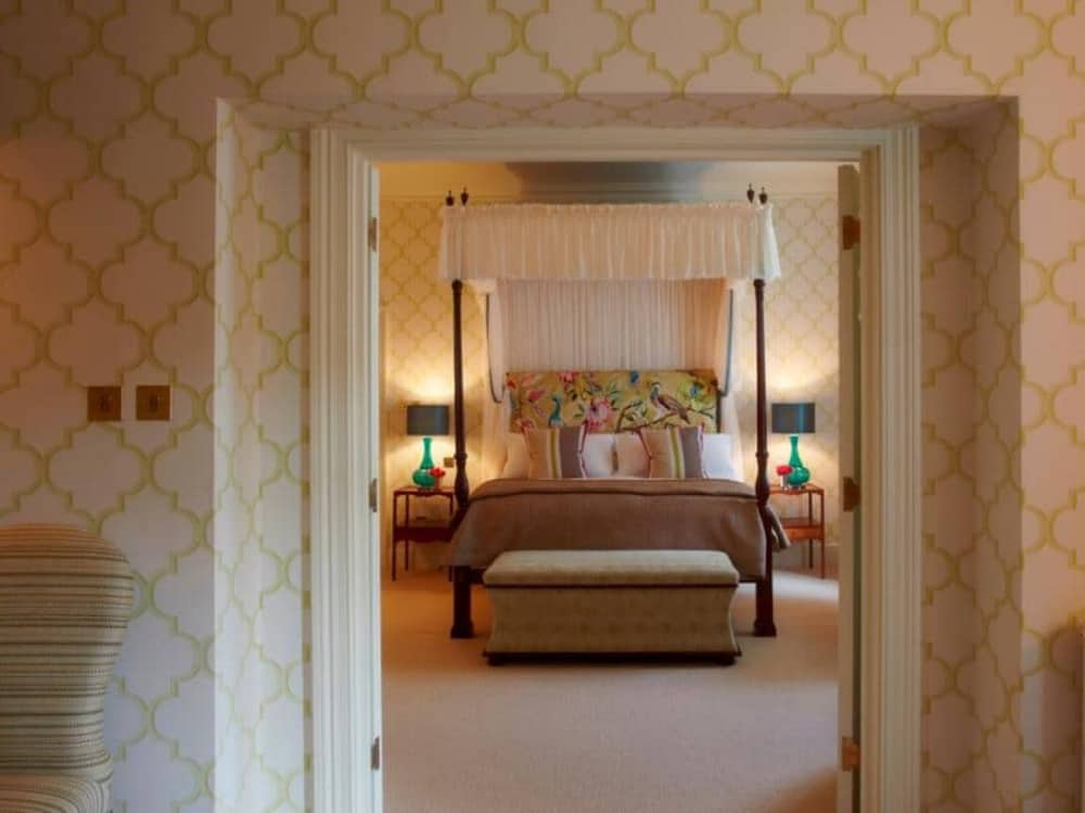 The Vineyard Hotel Newbury Berkshire 5 star luxury hotels stylish rooms four poster bed