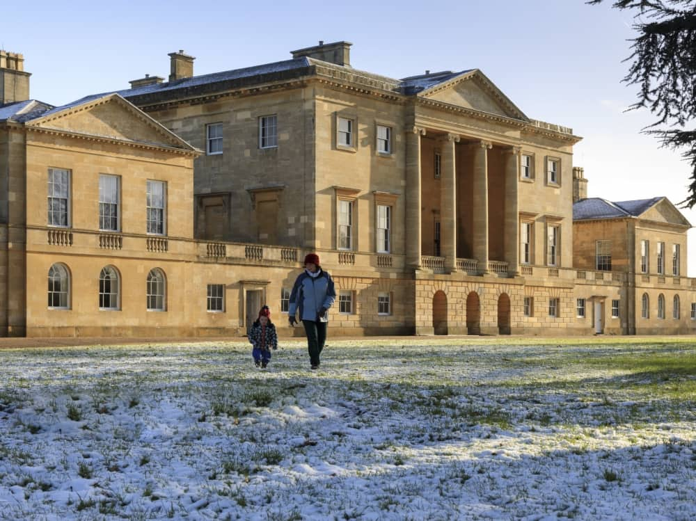 Basildon Park Lower Basildon Berkshire National Trust winter walk