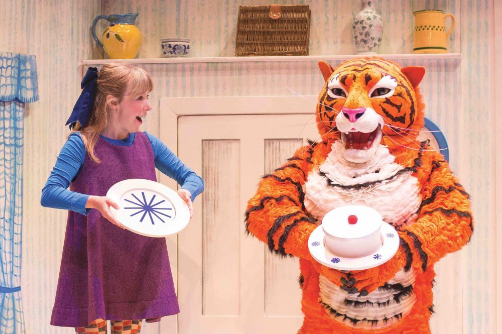 The Tiger who came to teat theatre production