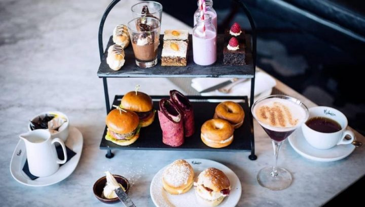 Contemporary twist on Afternoon tea at Malmaison Reading