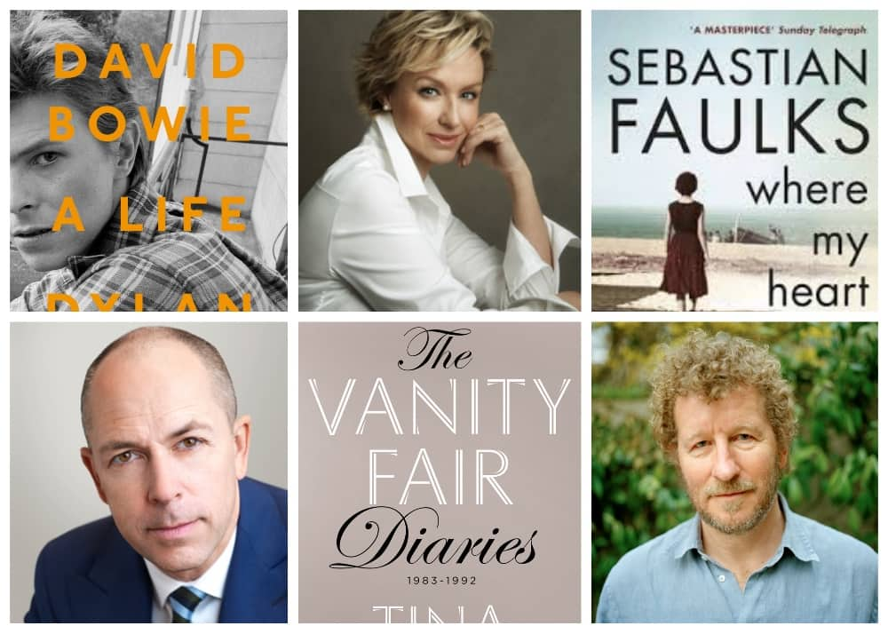 Cliveden literary festival with authors Dylan Jones, Tina Brown and Sebastian Faulks