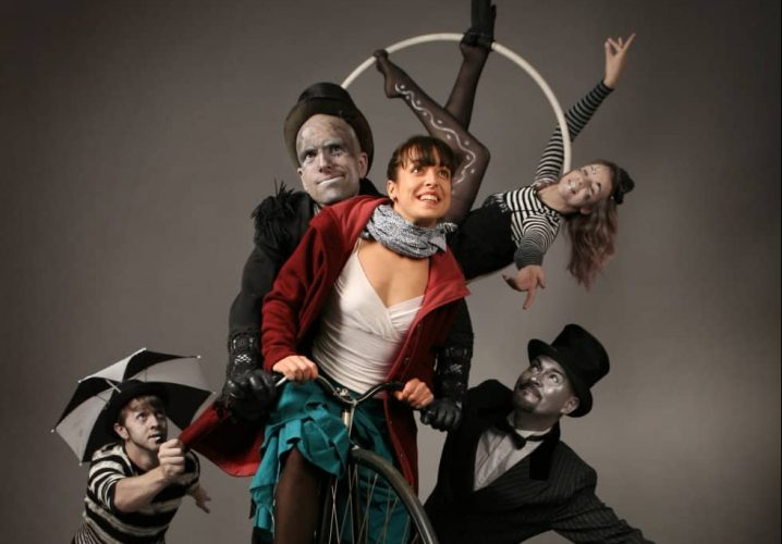 alternative circus act performs Dust at the Corn Exchange Newbury