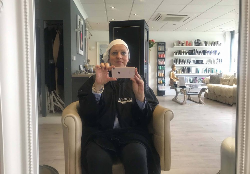going green at the hair salon – Bio degradable towels at Honey B Hair and Beauty Bar Wokingham