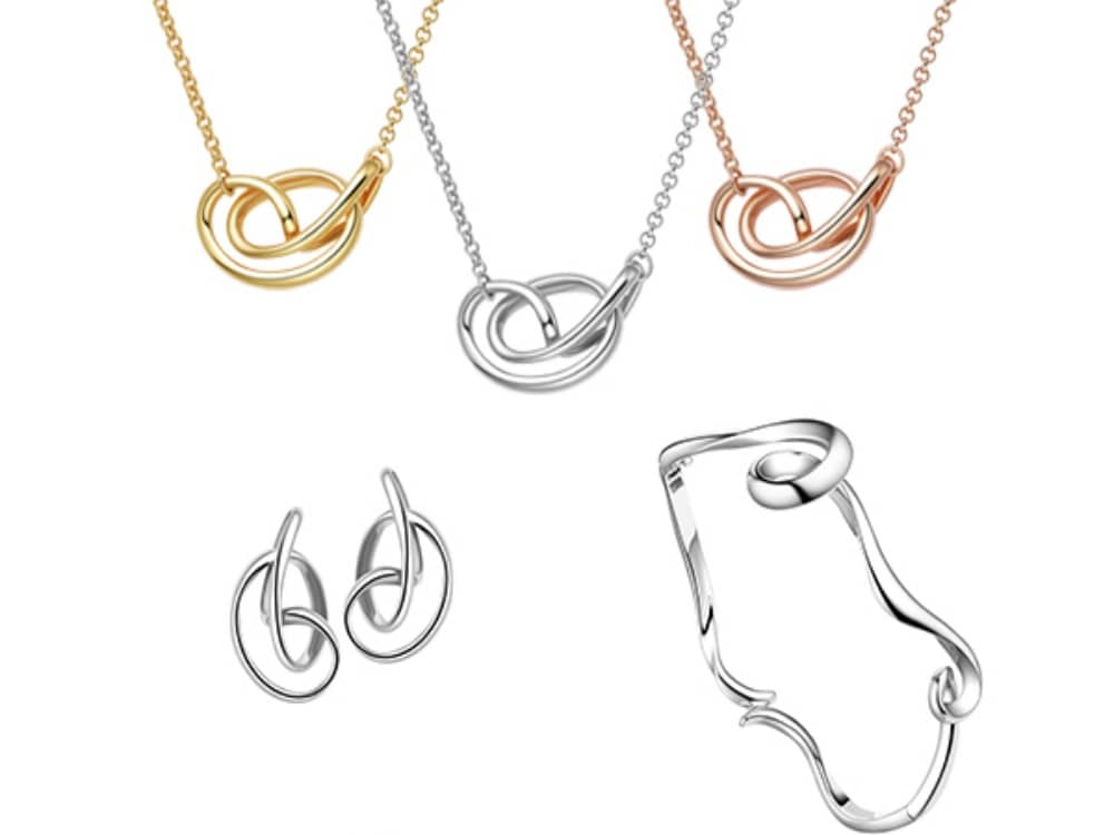 Stunning silver and gold pieces form the Fie Lui jewellery collections available at Strange The Jeweller Wokingham