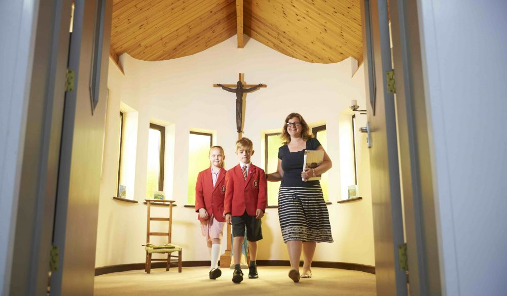 Sweet little chapel in the Prep School at St Joseph's College Reading