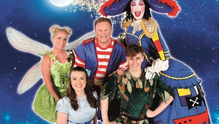 Mr Tumble and the Peter Pan cast at The Hexagon Reading