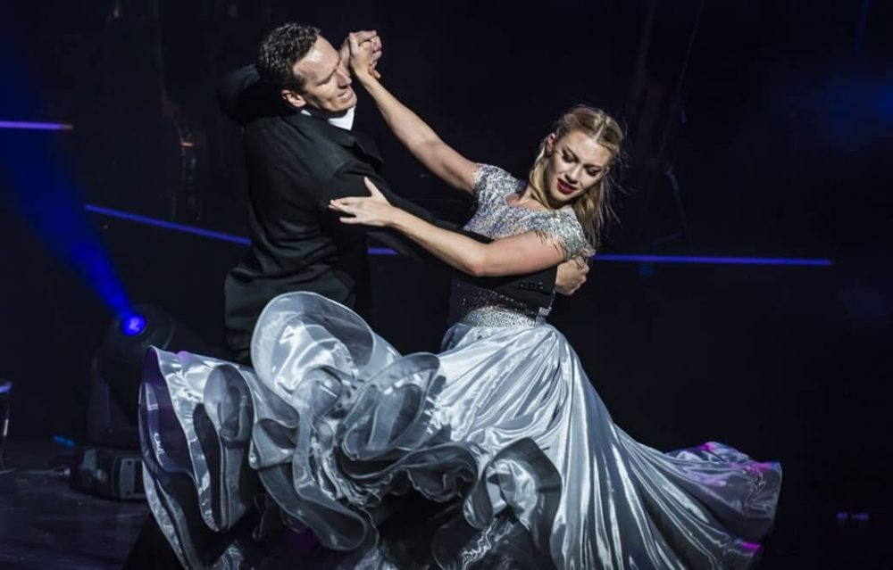 Strictly star Brendan Cole takes to the dance floor during his UK tour All Night Long