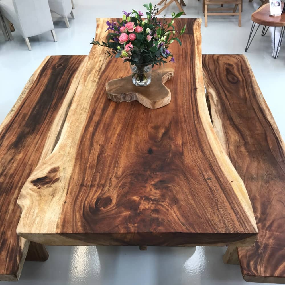 Field and Hawken Live edge dining table
