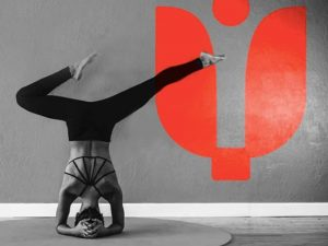 Yoga pose at Inspire Hot Yoga Maidenhead