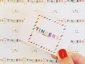 Tinkers Gifts Logo – Unique Gifts Bracknell Berkshire
