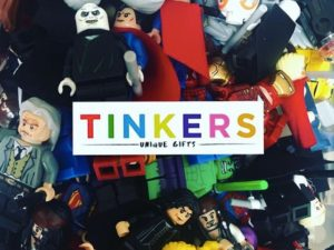 Lego figures become art at Tinkers Gifts
