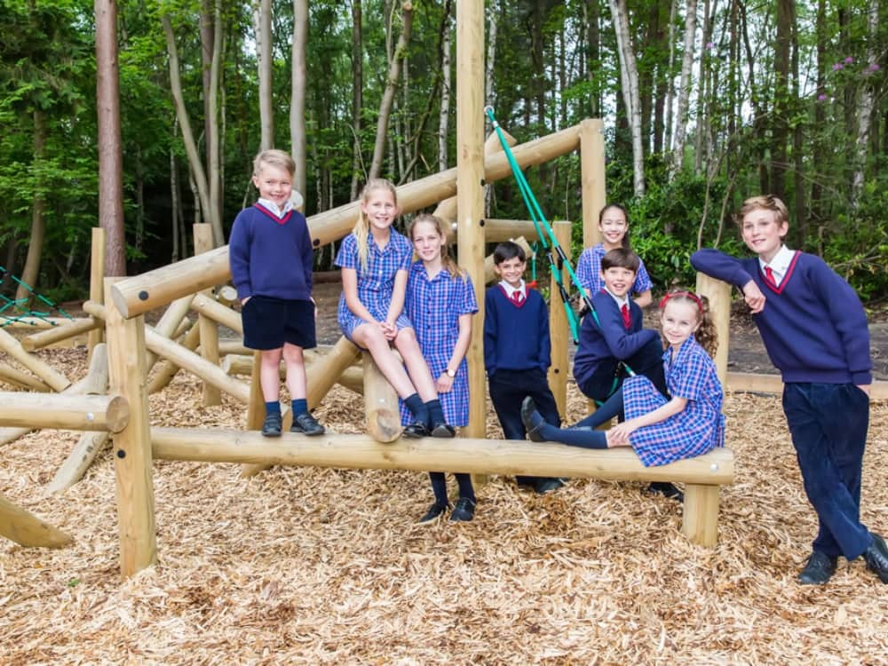 Eagle House School Crowthorne Sandhurst Berkshire Adventure playground