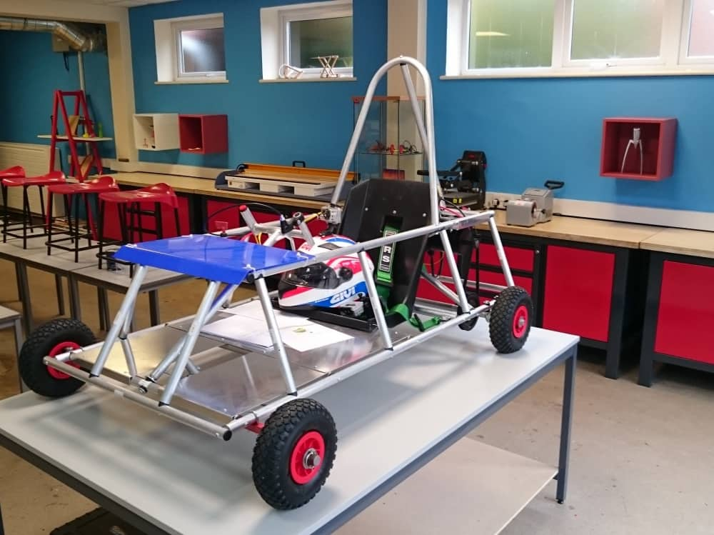 Eagle House School Crowthorne Sandhurst Berkshire Design Technology Green Fuel Go Kart