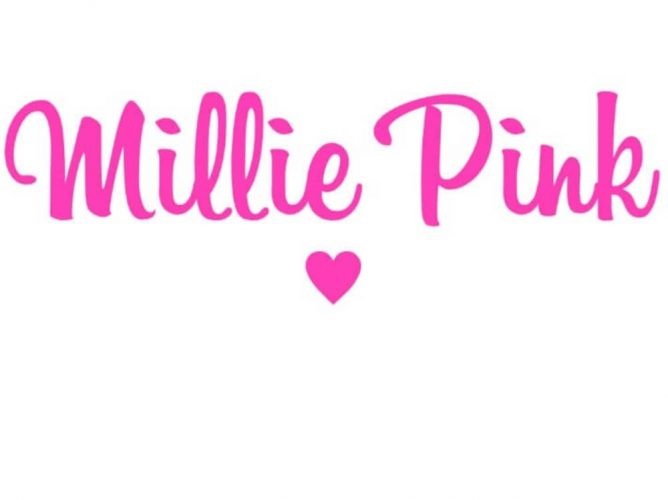 Millie Pink girls gifts logo