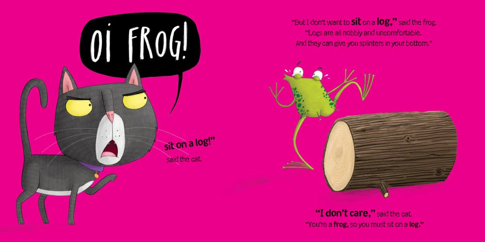 Oi Frog kids storybook