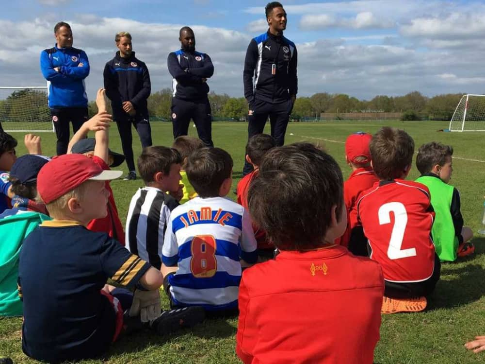 Reading FC Soccer Schools Holiday courses