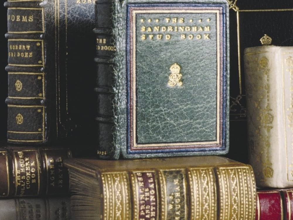 Windsor Castle rare and antique books World Book Day