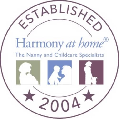 Harmony at Home logo childcare and nanny agency