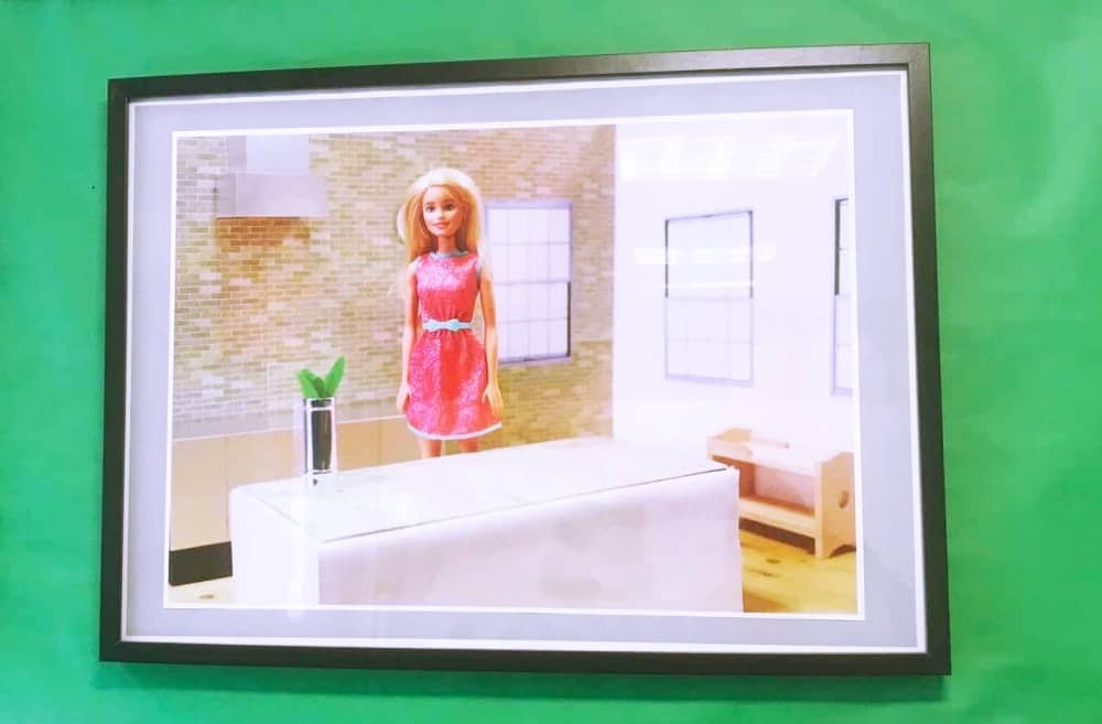 GCSE photography Barbie art Long Close School Slough Berkshire