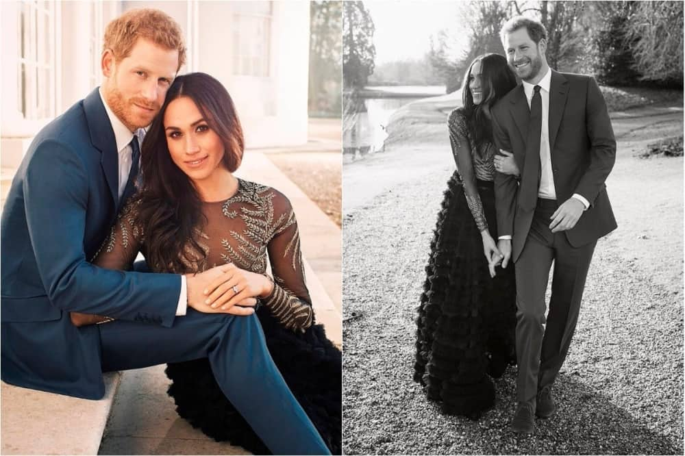 Prince Harry and Meghan Markle engagement photos Frogmore House Windsor Berkshire