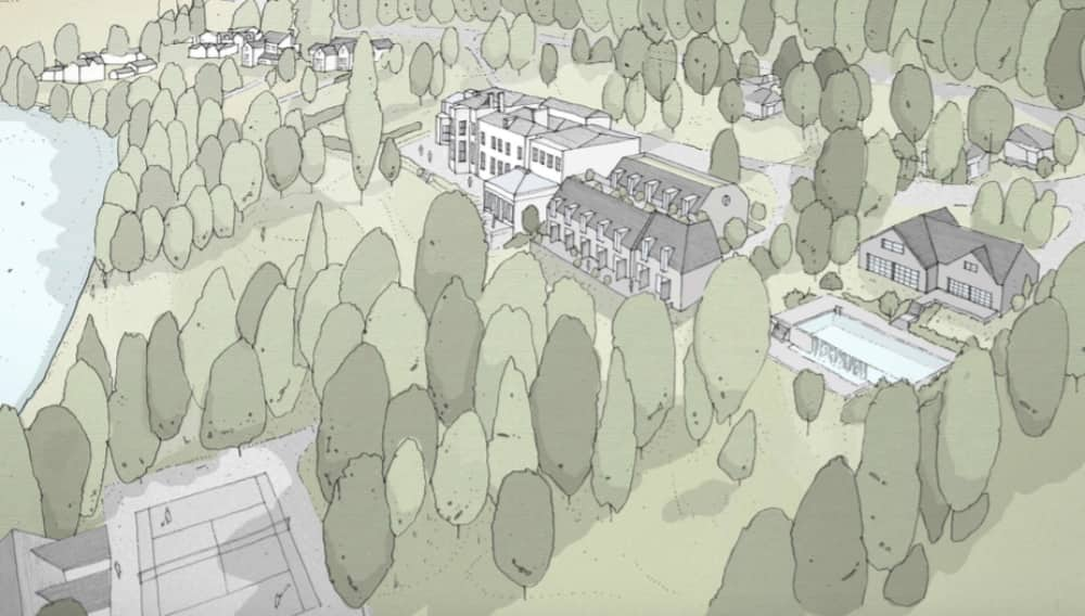 Soho House Group plans for Hotel, spa and private member club Lower Basildon Berkshire
