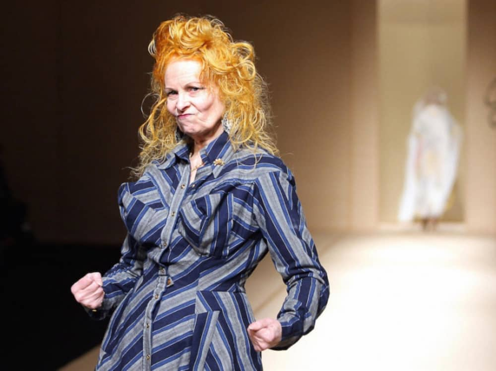 Fashion designer Vivienne Westwood – documentary Westwood: Punk, Activist, Icon Berkshire