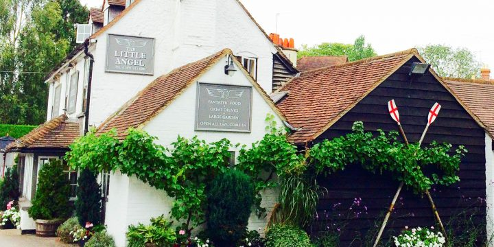 Little Angel pub Henley on Thames Muddy Stilettos Berkshire