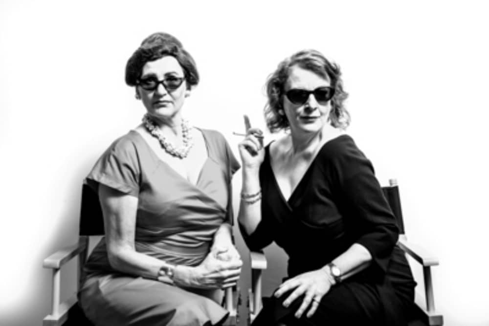 Wokingham Theatre Anton Burge production of Bette and Joan Hollywood Rivals