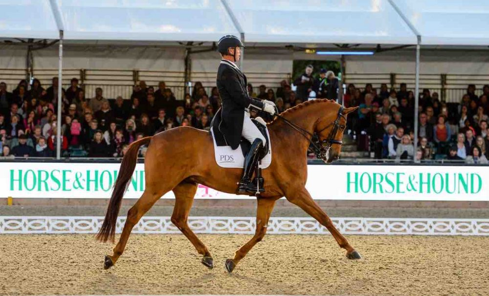 Carl Hester Dressage Royal Windsor Horse Show