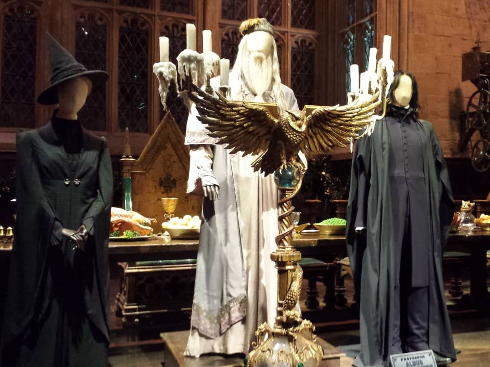 The Making of Harry Potter Great Hall Costumes