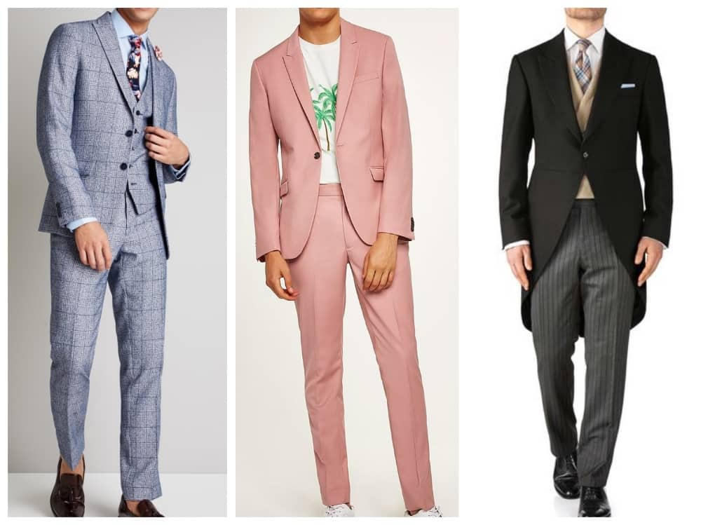 The Lexicon Bracknell fashion collage Men's suit for summer events