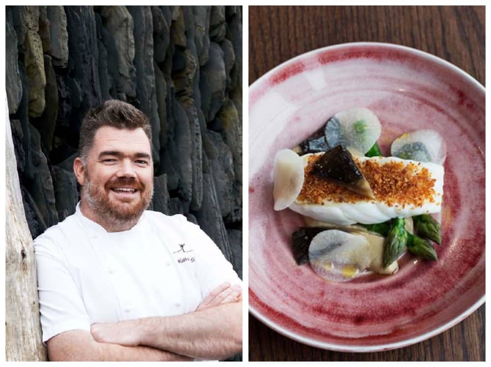 King of fish Nathan Outlaw Restaurant Nathan Outlaw Back To The Vine The Vineyard Hotel Stockcross Berkshire