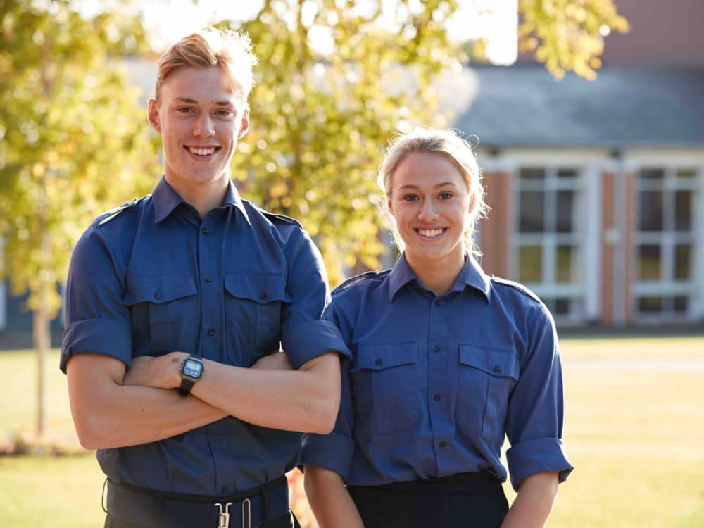 Pangbourne College Captains head boy and head girl