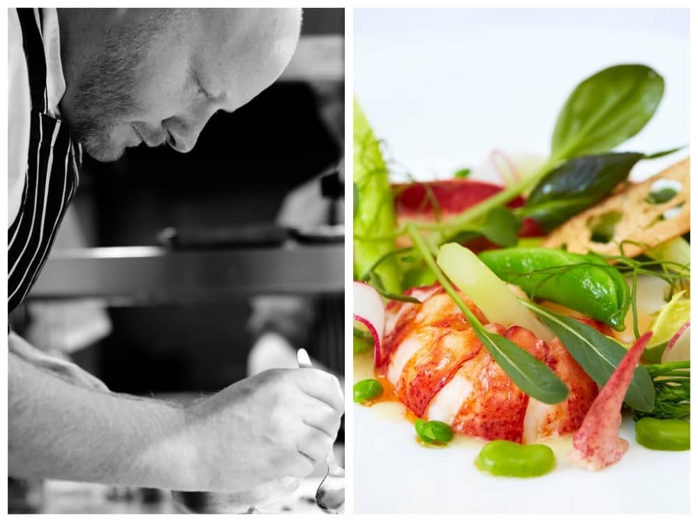 Chef Shay Cooper The Goring Hotel – Back to the vin The Vineyard Stockcross Berkshire