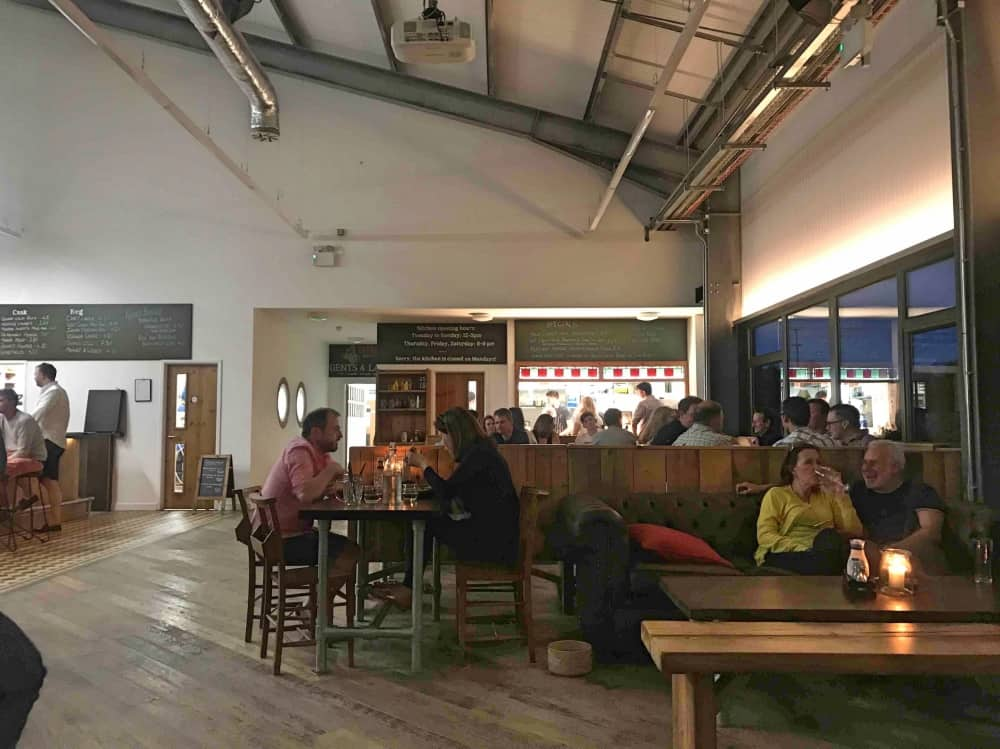Industrial barn West Berkshire Brewery Taproom and Kitchen yattendon