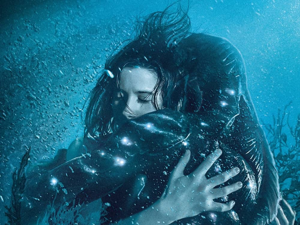 The Shape of water merman meets mute cleaner cuddling in a fishtanks