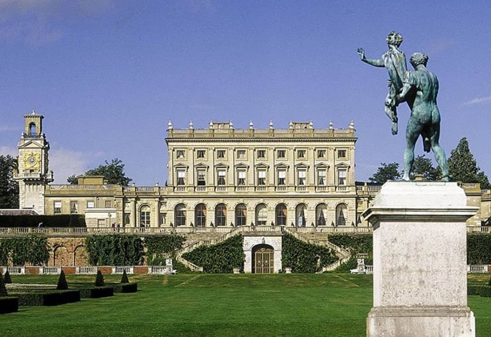 italianate garde 1 list mansion Cliveden House Hoteal and parterre lawn
