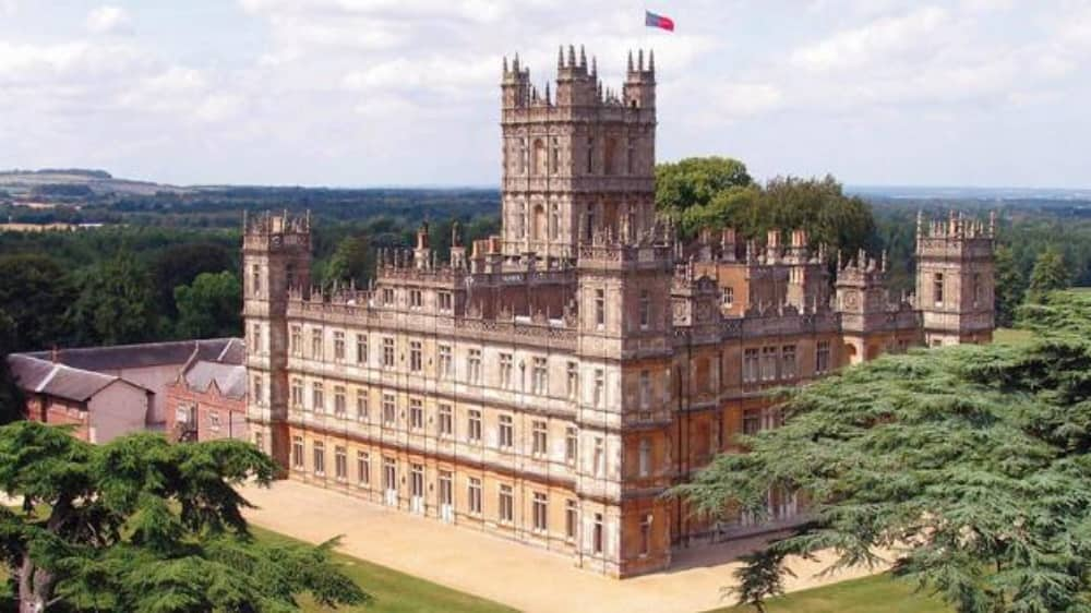 Highclere Castle Downton Abbey Lord and Lady Carnarvon Hampshire Estate Near Newbury