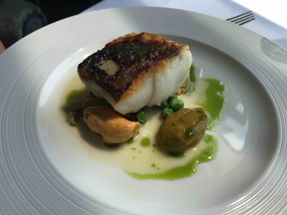 Cliveden House Hotel Andre Garrett Filly of cod mussels and peas