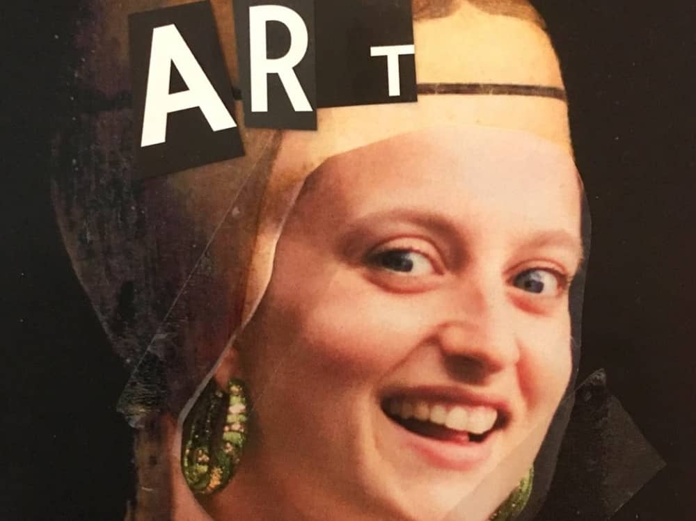 Comedian Harriet Braine Total Eclipse of the art