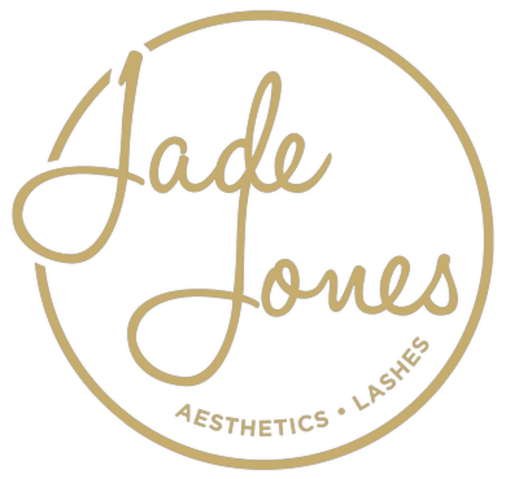 Jade Jones Berkshire aesthetics and lashes gold logo
