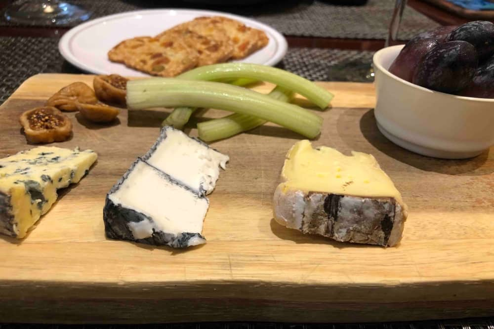 Astor grill Cliveden cheese board