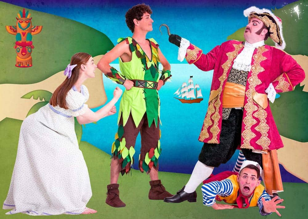 Peter Pan Immersion Theatre Captain Hook Peter Pan and Lisa Darling tell the classic tale