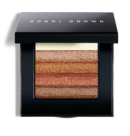 Bobbi Brown black compact with shimmer bronzer
