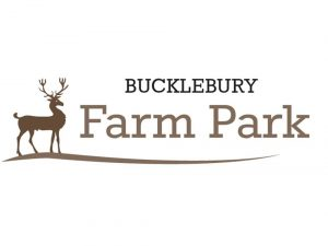 Bucklebury Farm Park logo with stag illustration