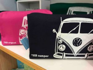 Craft Coop Maidenhead screen printed canvas bags featuring cars