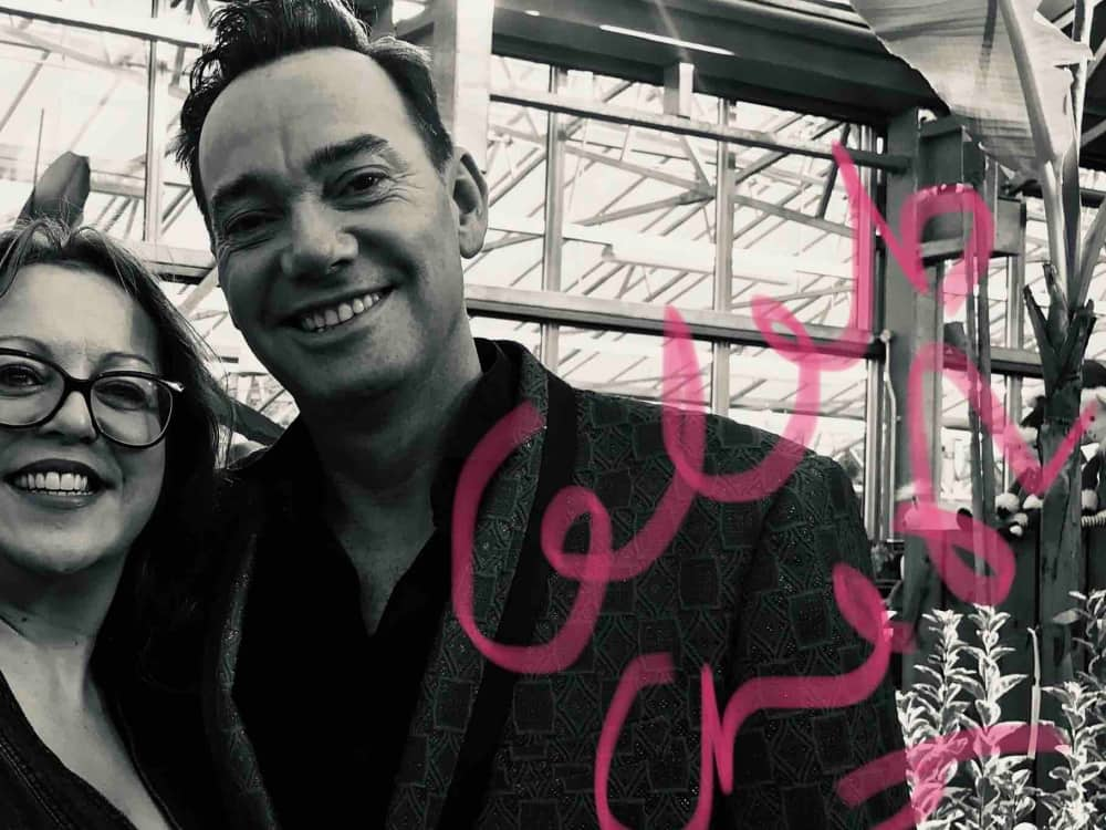 Muddy Stilettos Editor Rachel Jane with Strictly Come Dancing Judge Craig revel Horwood