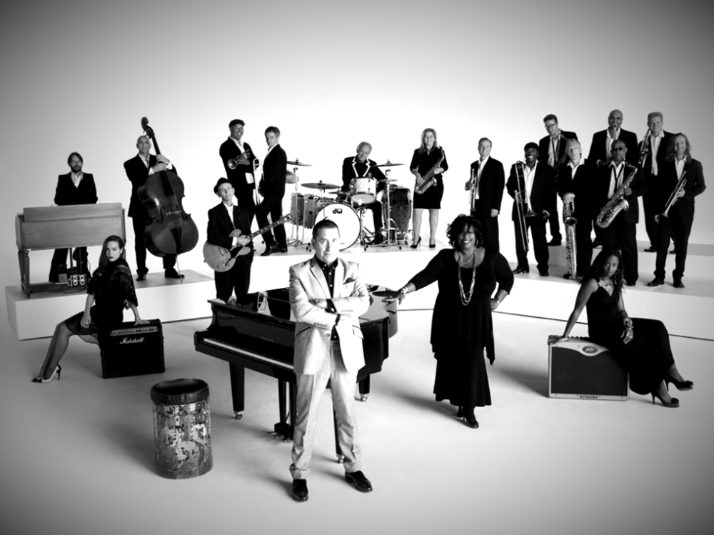 Musician Jools Holland and His rhythm and blues orchestra with special guest marc almond