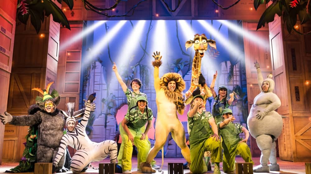 Madagascar The Musical Reading Hexagon 2018 Matt Terry as Lion